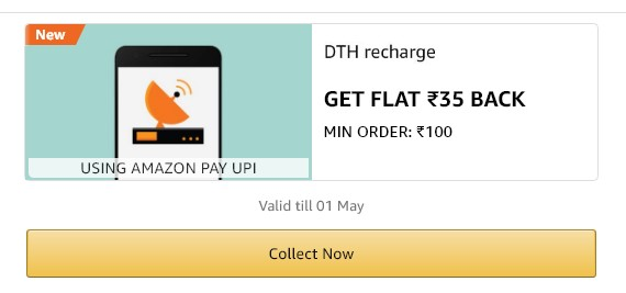amazon dth recharge