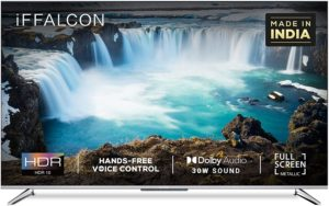 iFFALCON 139 cm (55 inches) 4K Ultra HD Smart Certified Android LED TV