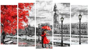 999Store Multiple Framed Printed Lover Painted Canvas Rs 983 amazon dealnloot