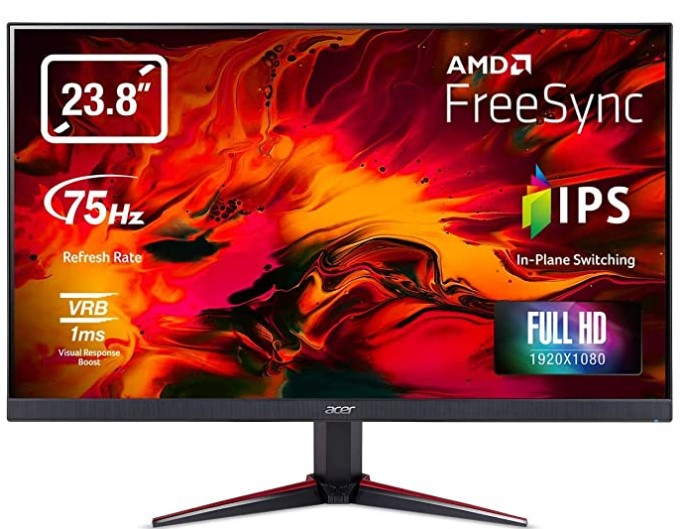 Acer Nitro VG240YB 23.8 inch Full HD IPS Monitor
