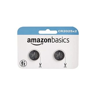 AmazonBasics CR2025 Lithium Coin Cell 2 Pack Rs 79 amazon dealnloot
