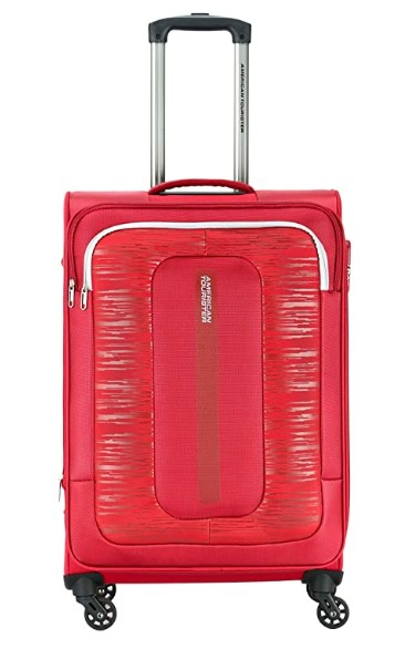 American Tourister Brisbane Polyester 55 cms Red Softsided Cabin Luggage