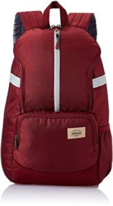 American Tourister Copa 22 Ltrs Red Casual Rs 449 amazon dealnloot
