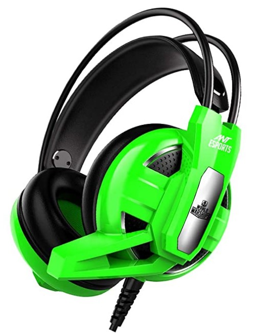 Ant Esports H520W World of Warships Edition Wired Gaming Headset Green