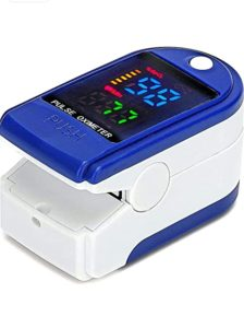 Clive p 01 Pulse oximeter Blue and Rs 399 amazon dealnloot