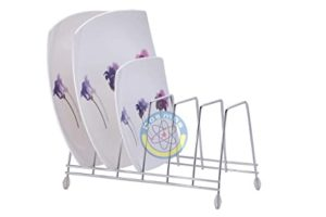 Cosmos Stainless Steel Lite Plate Rack Stand Rs 235 amazon dealnloot
