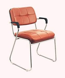 Da URBAN Study Chair with Arms Brown Rs 1820 amazon dealnloot