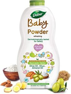 Dabur Baby Powder No added Talc and Rs 188 amazon dealnloot