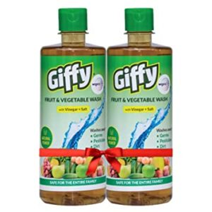 Giffy Fruit Vegetable Wash with Vinegar Salt Rs 169 amazon dealnloot