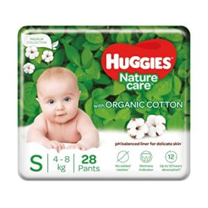 Huggies Nature Care Pants Small S Size Rs 182 amazon dealnloot