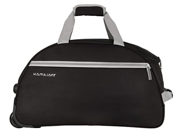 Kamiliant by American Tourister KAM Brio Polyester 52 cms Black Travel Duffle