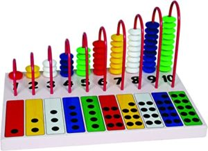 Little Genius Counting Dot Abacus Multi Color Rs 342 amazon dealnloot