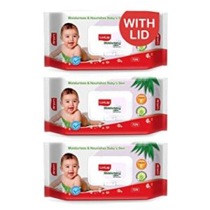 LuvLap Paraben Free Baby Wipes with Aloe Rs 115 amazon dealnloot