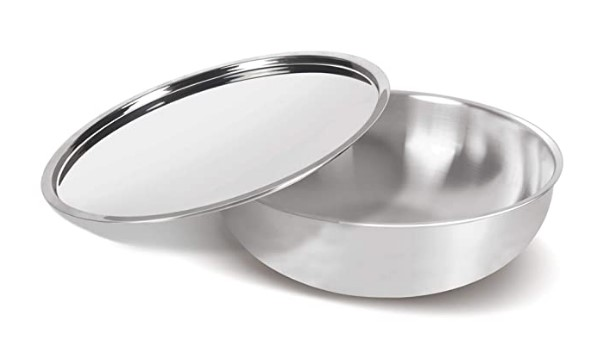 Milton Pro Cook Triply Stainless Steel Tasla with Lid, 20 cm