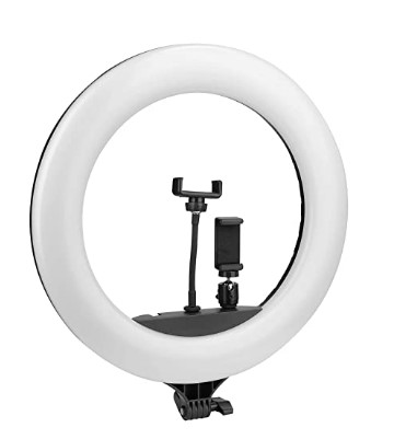 PHOTRON Professional 18 Inch LED Ring Light with Mobile Holder