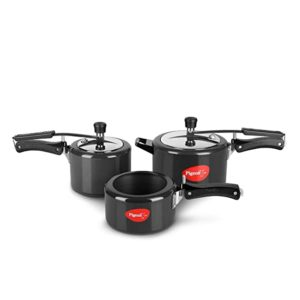 Pigeon Hard Anodised Pressure Cooker Combo 2 Rs 2299 amazon dealnloot