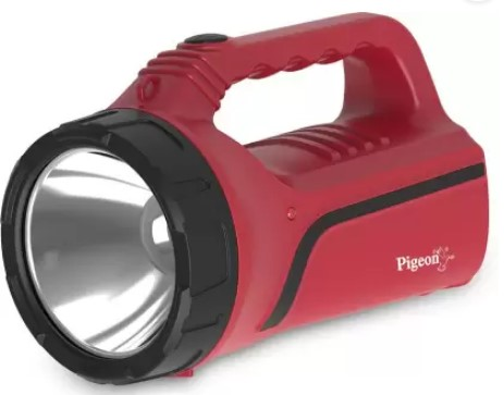 Pigeon Rigel Plus LED Torch Lantern Emergency Light  (Red)