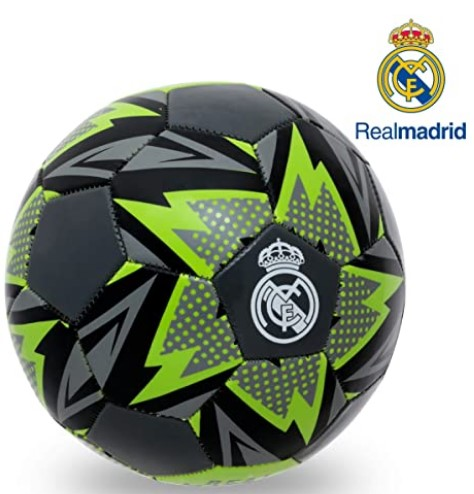Real Madrid C.F. Official License 3 Ply PU Material All Surface Football