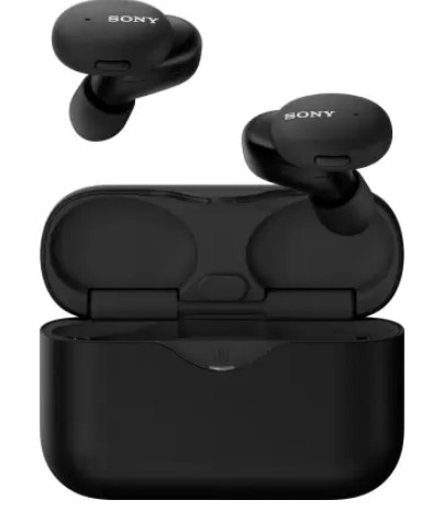 SONY WF-H800 With 16hrs Battery Life Bluetooth Headset  (Black, True Wireless)