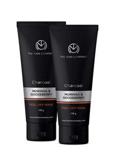 The Man Company Activated Charcoal Peel off Rs 313 amazon dealnloot