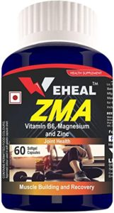 Weheal ZMA with Zinc Magnesium and Vitamin Rs 199 amazon dealnloot
