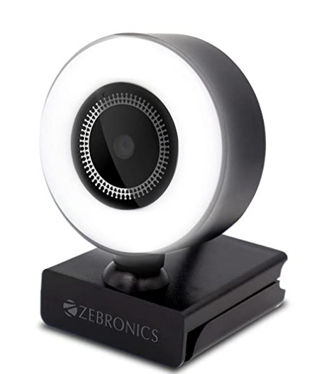 ZEBRONICS Zeb-Ultimate Star webcamera with 5P Lens 1920x1080 Full HD