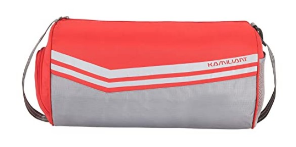 Kamiliant by American Tourister KAM Shuttle Polyester 47 cms Sunset Red Gym Bag