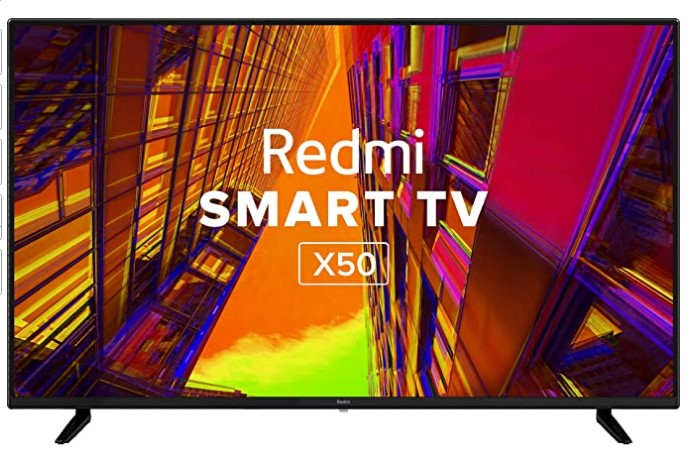 Redmi 126 cm (50 inches) 4K Ultra HD Android Smart LED TV X50