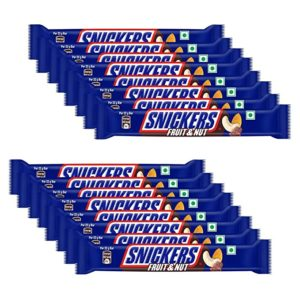 Snickers Fruit Nut Flavour Chocolate Bar Pouch Rs 260 amazon dealnloot