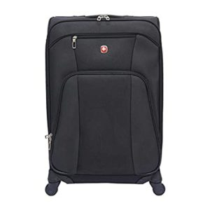 Swiss Gear Polyester 61 cms Black Softsided Rs 1074 amazon dealnloot