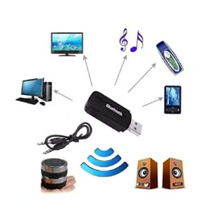 Techgadget Wireless USB Bluetooth Receiver Adapter Dongle Rs 99 amazon dealnloot