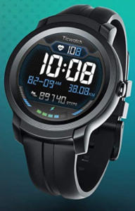 Ticwatch TicWatch E2 SmartWatch (Up to 2 days Battery Life_Compatible with iPhone and Android_5 ATM)