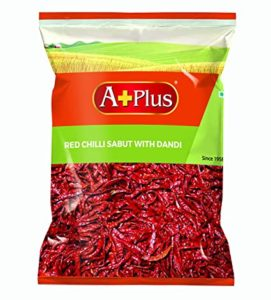 APLUS RED Chilli STEMLESS Pouch 2 x Rs 140 amazon dealnloot