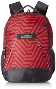 American Tourister 32 5 Ltrs Red Casual Rs 750 amazon dealnloot
