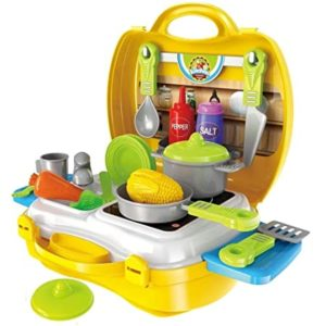 Ethnic Forest Luxury Yellow Kitchen Set Cooking Rs 369 amazon dealnloot