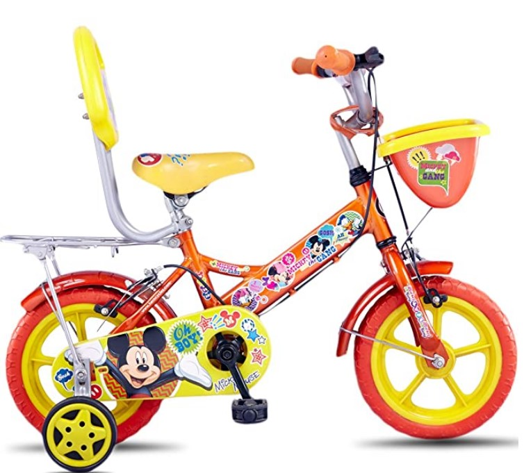 Hero Disney 12T Mickey Junior Cycle with Carrier