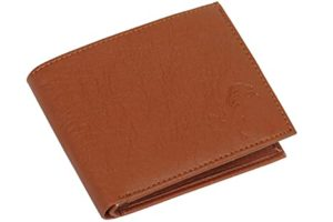 IBEX Men Tan Artificial Leather Wallet for Rs 175 amazon dealnloot