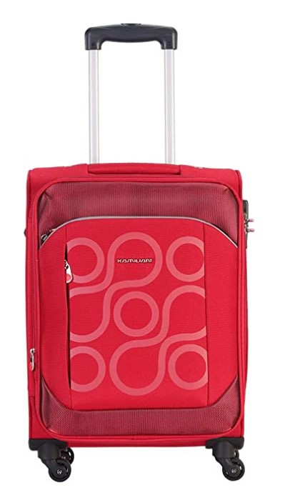Kamiliant by American Tourister Kam Harita+ 54.5 cms Red Softsided Cabin Luggage