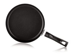Perfect Non Stick Fry Pan wih lid Rs 303 amazon dealnloot
