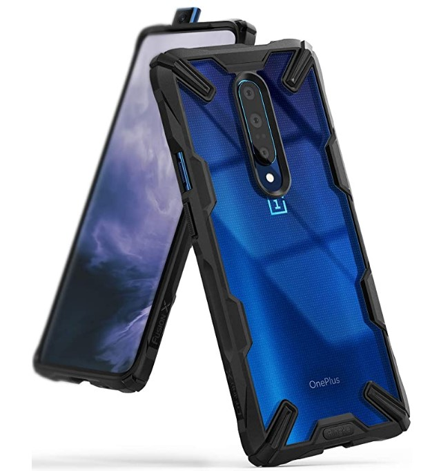 Ringke Fusion-X Designed for OnePlus 7 Pro Case Back Cover