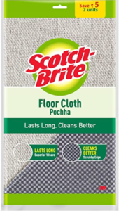 Scotch Brite Floor Cleaning Cloth (Pochha), 2 Pieces Pack