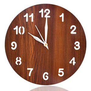 Heart Home Simple Numerial Round Shaped Wooden Rs 199 amazon dealnloot