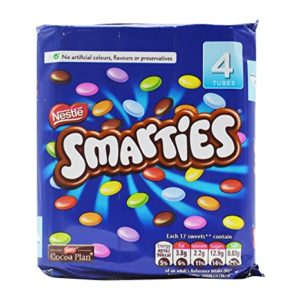 Nestle Smarties 4 Tube Pack Pouch 152 Rs 211 amazon dealnloot