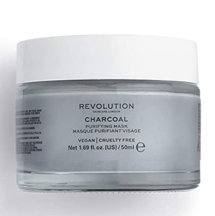 Revolution Skincare Charcoal Purifying Mask,50ml (clogged pores, removes oil and dirt)