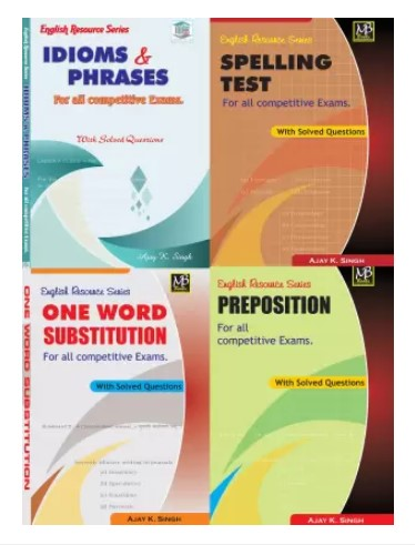SSC Resource Book(Idioms & Phrases, OWS, Preposition, Spelling Test)