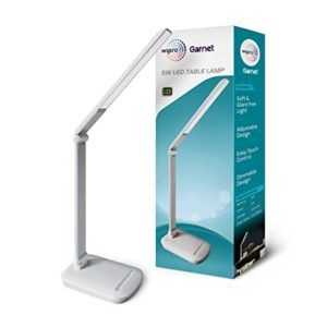 Wipro 5W LED Table Lamp with Smooth Rs 611 amazon dealnloot