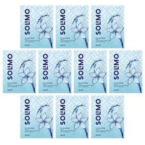 Amazon Brand Solimo Face Sheet Mask with Rs 109 amazon dealnloot