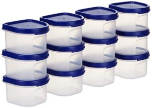 Amazon Brand Solimo Plastic Storage Containers with Rs 434 amazon dealnloot