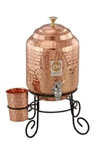 Copper Master 5 Litre Hammered Copper Water Rs 2079 amazon dealnloot