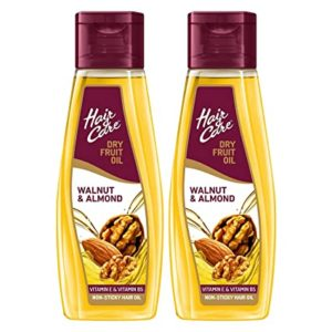 Hair Care with Walnut Almond Non Sticky Rs 270 amazon dealnloot